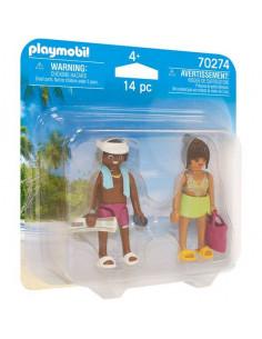 Playmobil: Cuplu în vacanță Duo Pack 70274