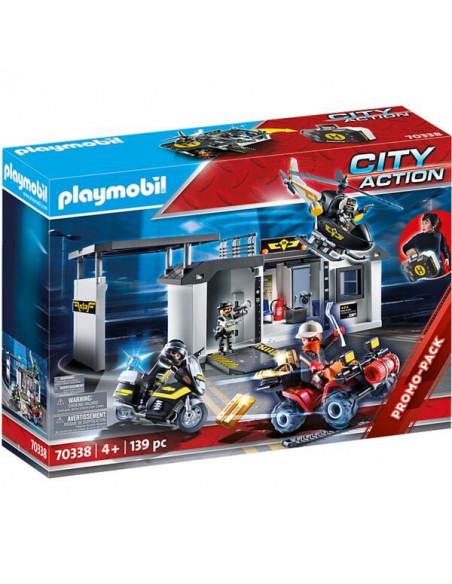 Playmobil: Unitate specială și centru SWAT portabil 70338