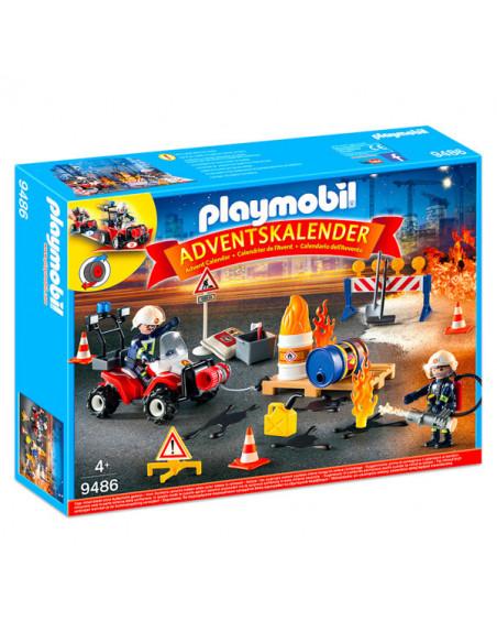 Calendar de crăciun - Incendiu pe şantier - 9486