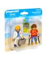 Figurină medic şi pacient - 70079