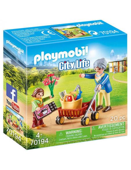 Playmobil City life: Cumpărături cu bunica 70194