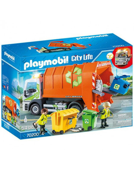 Playmobil City Life, Camionul de gunoi selectiv - 70200