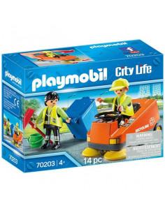 Playmobil City Life, Mașină de măturat stradal - 70203