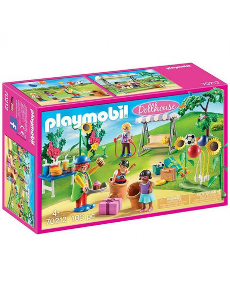 Playmobil Dollhouse, Petrecere de aniversare pentru copii -