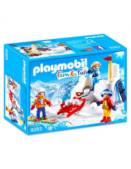 Bătaie cu zăpada - 9283