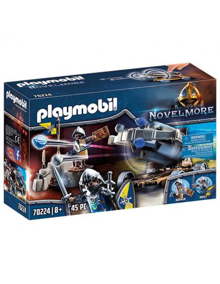 Playmobil: Cavalerii de Novelmore cu tun de apă - 70224