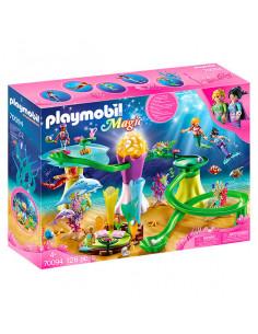 Playmobil Magic: Set de joacă Coral cu cupolă iluminat - 70094