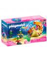 Playmobil Magic: Sirenă cu gondolă melc - 70098