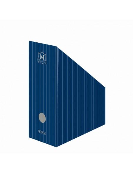Suport Dosare Carton Montana Albastru
