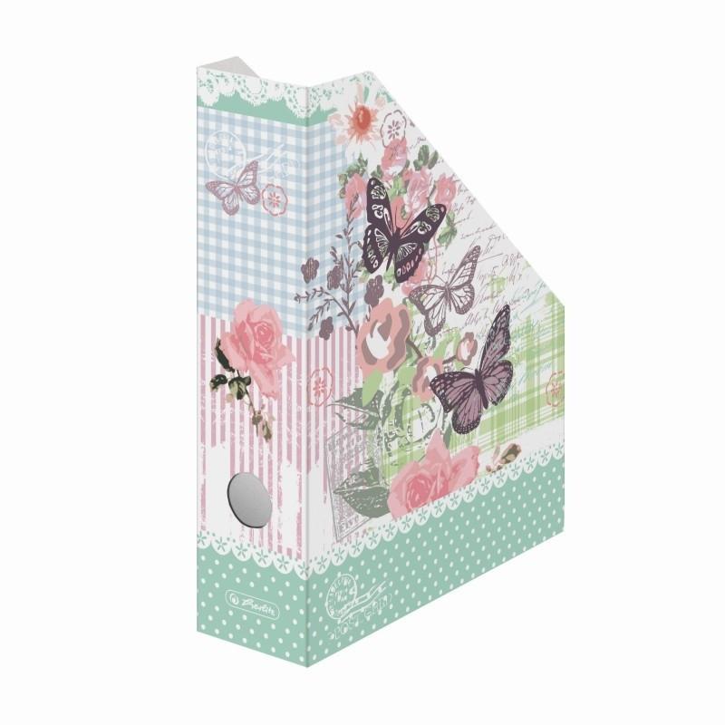 Suport Dosare Carton A4 Motiv Ladylike Butterfly