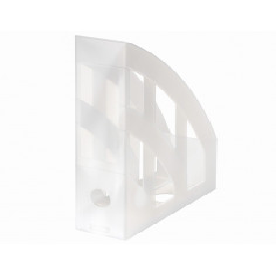 Suport Dosare Plastic A4 Alb Translucid
