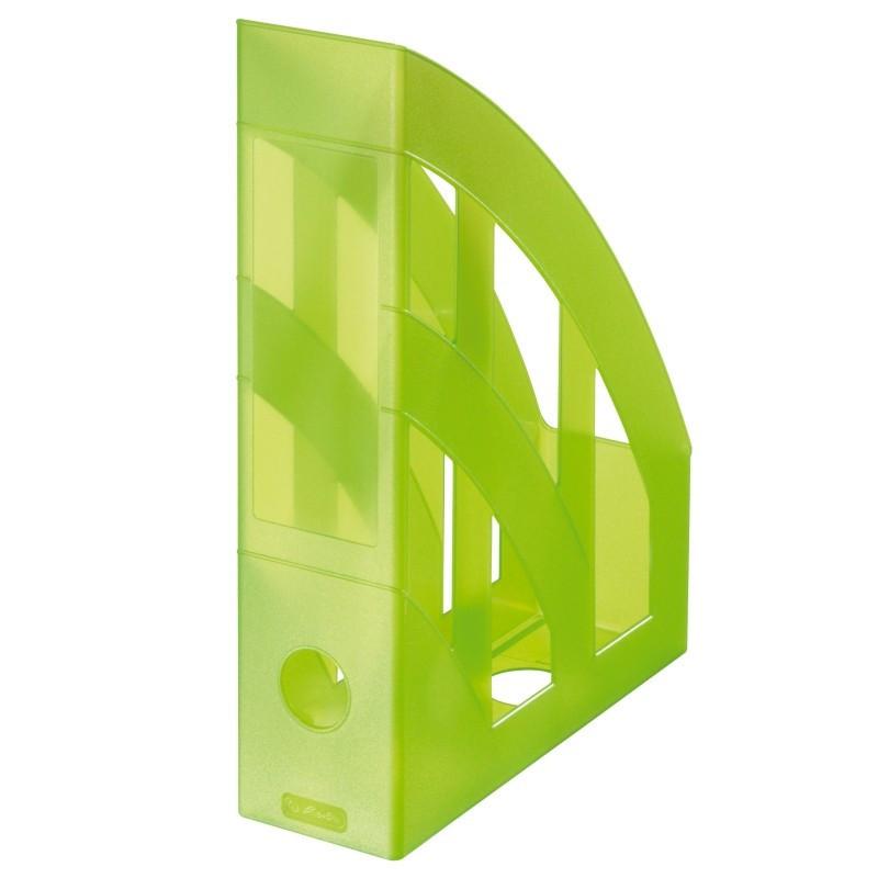 Suport Dosare Plastic A4 Verde Translucid