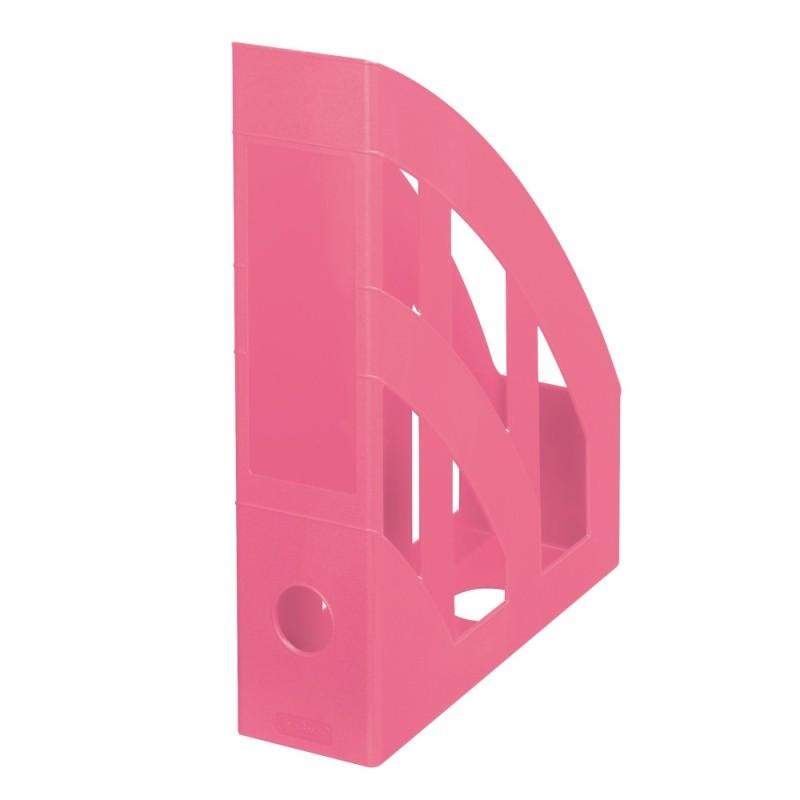 Suport Dosare Plastic A4 Clasic Culoare Roz