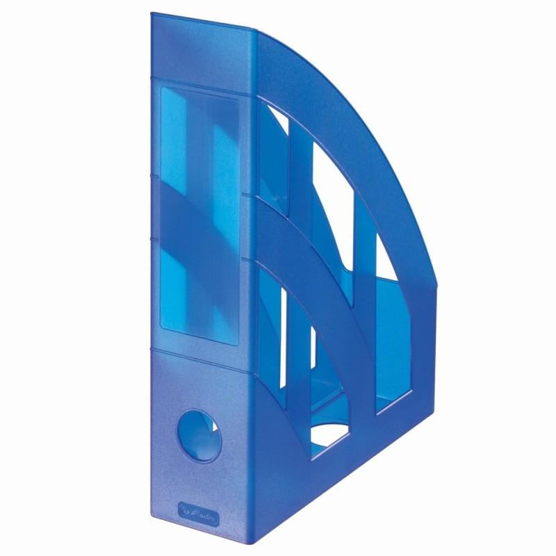 Suport Dosare Plastic A4 Albastru Regal