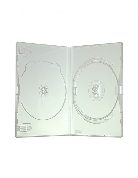 Carcasa 2 DVD 14 mm Clear