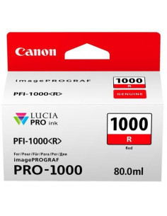 Cartus cerneala original Canon PFI1000R, BS0554C001AA, Red