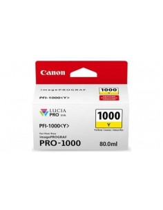 Cartus cerneala original Canon PFI1000Y, BS0549C001AA, Yellow