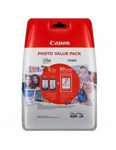 Set cartuse cerneala Canon cap. mare PG-545XL + CL-546XL +