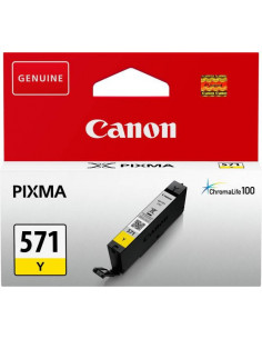 Cartus cerneala original Canon CLI571Y, BS0388C001AA, Yellow