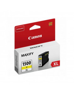 Cartus cerneala original Canon PGI1500XLY, BS9195B001AA, Yellow