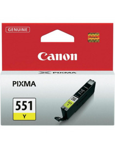 Cartus cerneala original Canon CLI551Y, BS6511B001AA, Yellow