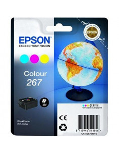 Cartus cerneala original Epson C13T26704010, 267, Color