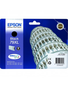 Cartus cerneala original Epson C13T79014010, 79XL, Black