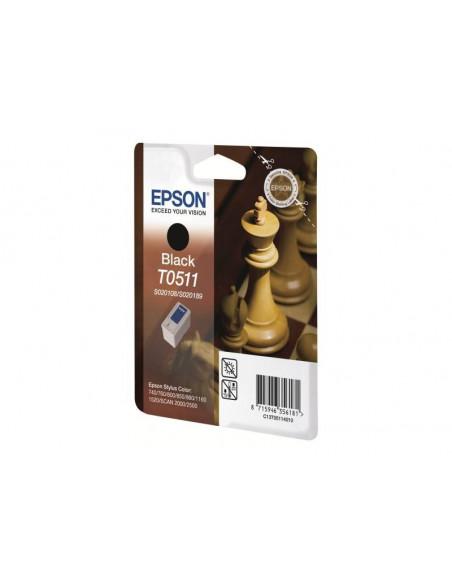 Cartus cerneala original Epson C13T05114010, T0511, Black