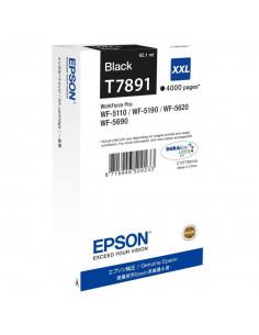 Cartus cerneala original Epson C13T789140, T7891, Black