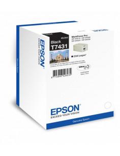 Cartus cerneala original Epson C13T74314010, T7431, Black