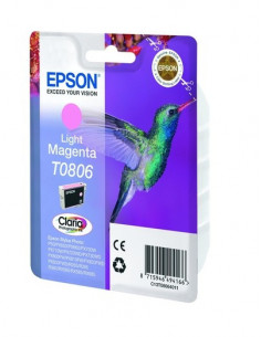 Cartus Cerneala Original Epson C13T08064011, Light Magenta