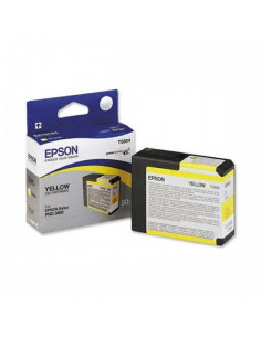 Cartus Cerneala Original Epson C13T580400, Yellow