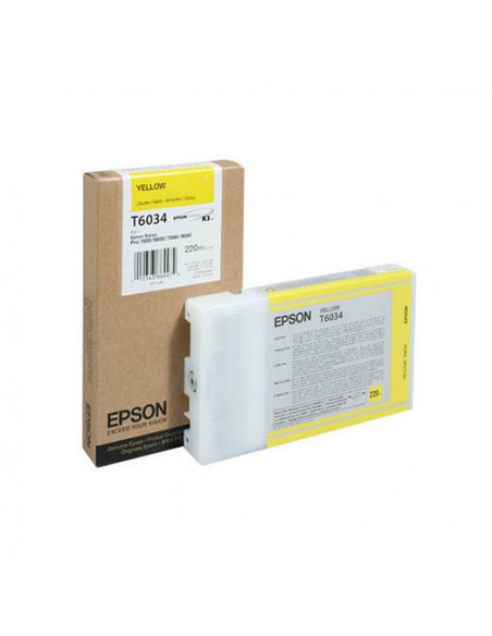 Cartus Cerneala Original Epson C13T603400, Yellow