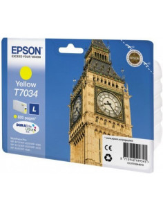 Cartus Cerneala Original Epson C13T70344010, Yellow