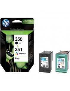 Cartus cerneala original HP 350 + 351 SD412EE, Black