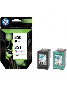 Cartus cerneala original HP 350 + 351 SD412EE, Black