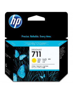 Cartus cerneala original HP 711 CZ136A, Yellow