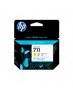 Cartus cerneala original HP 711 CZ132A, Yellow