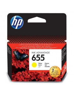 Cartus cerneala original HP 655 CZ112AE, Yellow