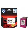 Cartus cerneala original HP 650 CZ102AE, Color