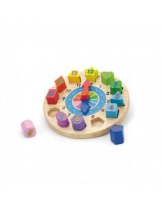 Puzzle sortator cu ceas