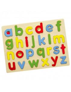 Puzzle cu litere mici