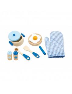 Set accesorii pentru gatit - albastru