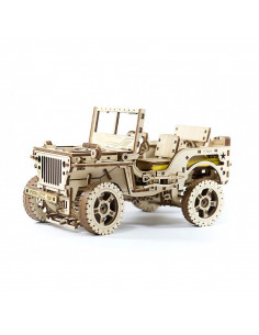Jeep Willys MB 4x4 - puzzle 3D mecanic