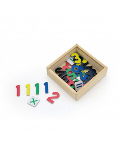 Set cifre magnetice 37 piese, Viga