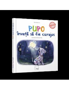 """Carte educativa """"Pupo invata sa fie curajos"""""""