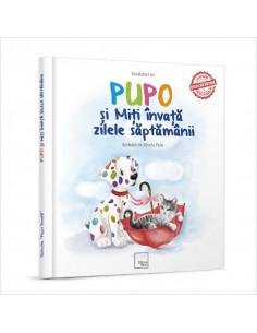 """Carte educativa de poezii """"Pupo si Miti invata zilele"""