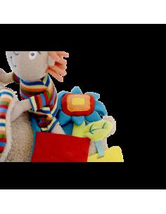 Jucarie de tras Elefant cu activitati, Dolce