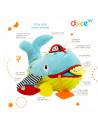 Balena, jucarie interactiva cu activități, Dolce