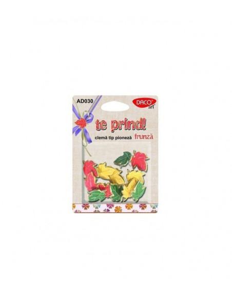 Accesorii craft - AD030 clema tip pioneza frunza DACO